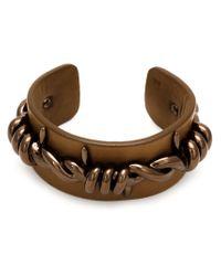 Vivienne Westwood - Brown Barbed Wire Cuff for Men - Lyst