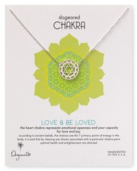 Dogeared - Metallic Love Be Loved Chakra Necklace 18 - Lyst
