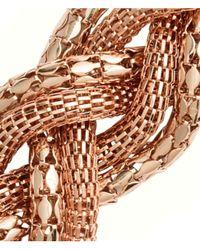 H&M | Metallic Braided Necklace | Lyst