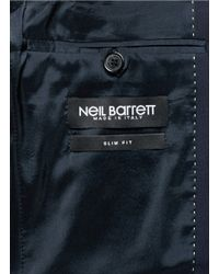 Neil Barrett - Blue Slim Fit Two-button Wool Suit for Men - Lyst