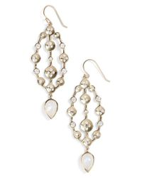 Melinda Maria Metallic 'savannah' Drop Earrings