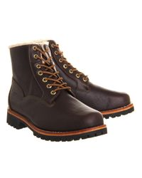 Timberland Brown Heritage Bomber Boot for men