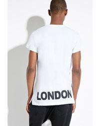 Forever 21 | White Boy London Vented Tee for Men | Lyst