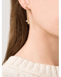 Kelly Wearstler | Metallic 'faxon' Earrings | Lyst