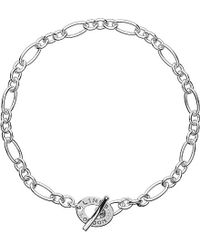 Links of London | Metallic Signature Extra Small Sterling Silver Bracelet | Lyst
