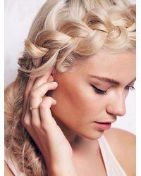 Free People - Metallic Satya Jewelry Womens Diamond Bindi Ring - Lyst