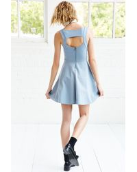 Kimchi Blue Blue Camrin Fit + Flare Dress