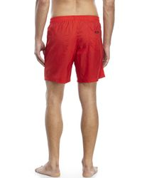 Moschino | Red Swim Trunks for Men | Lyst