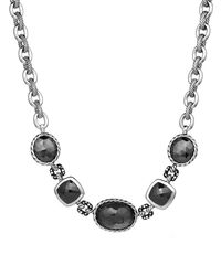 David Yurman - Multicolor Dy Collection Necklace with Crystal Hematine and Diamonds - Lyst