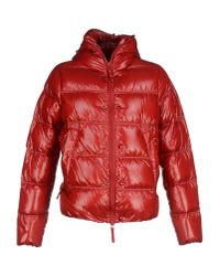 Duvetica - Red Down Jacket for Men - Lyst