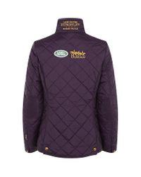 Joules Purple Burghley Jacket