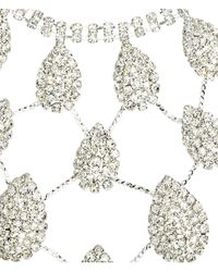 H&M Metallic Sparkly Necklace And Earrings