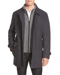 Michael Kors Gray Car Coat for men