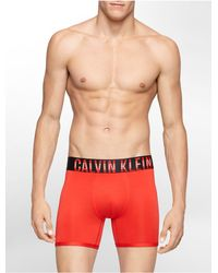 Calvin Klein | Red Underwear Intense Power Micro Boxer Brief for Men | Lyst