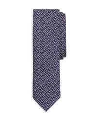 Brooks Brothers | Blue Woven Keys Slim Tie for Men | Lyst