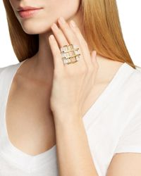 Marc By Marc Jacobs | Metallic Kandi Gems Cage Ring | Lyst