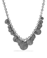David Yurman Metallic Cable Coil Necklace
