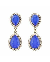 Loren Hope | Blue Abba Earrings Cobalt | Lyst