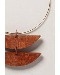 Sophie Monet - Metallic Media Luna Necklace - Lyst