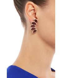 Dana Rebecca | Pink Lindsay Allison Rhodolite Garnet Earrings | Lyst
