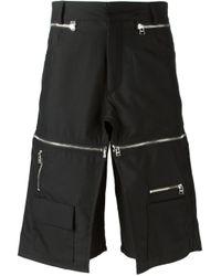Hood By Air | Black Zipped Shorts for Men | Lyst