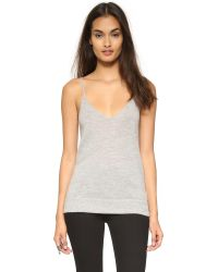 Equipment | Gray Cashmere Layla Tank | Lyst