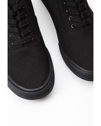 Forever 21 - Black Classic Canvas Sneakers You've Been Added To The Waitlist for Men - Lyst