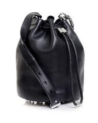 Alexander Wang - Black Alpha Soft Bucket Bag - Lyst