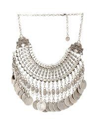 Muzungu Sisters - Metallic Berber Coin Necklace - Lyst