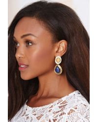 Nasty Gal | Blue From St Xavier Lula Ii Earrings | Lyst
