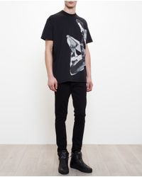 Givenchy - Black Oversized Basketball T-Shirt for Men - Lyst