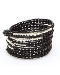 Nakamol | Multicolor Anthea Wrap Bracelet-black | Lyst