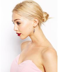 ASOS - Pink Mini Lantern Earrings - Lyst