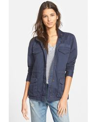 Hinge - Blue Fatigue Jacket - Lyst