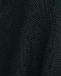 Zara | Green Textured Fabric Skirt | Lyst
