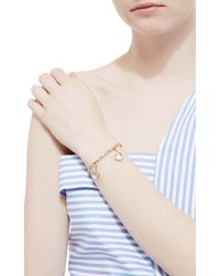 Loquet London - Metallic 14k Yellow Gold 19inch Bracelet - Lyst