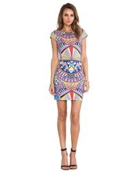 Mara Hoffman | Multicolor Cap Sleeve Mini | Lyst