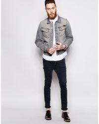 Nudie Jeans Mens Conny Jacket Fog