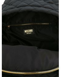 Moschino - Black Backpack With Logo - Lyst