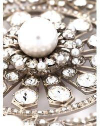 Givenchy | Metallic Filigree Brooch | Lyst