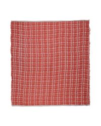 Destin - Red Square Scarf - Lyst