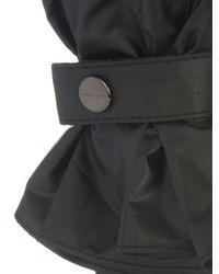 Burberry Gray Automatic Check-Lined Umbrella