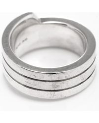 Hermès   Metallic Guaranteed Authentic Pre-owned Ring   Lyst