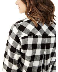 Alternative Apparel | Black Bungalow Buffalo Check Cardigan | Lyst