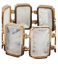 Irene Neuwirth - Pink Moonstone Bracelet - Lyst