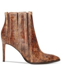 Donald J Pliner | Brown Donald J Pliner Prim Ankle Booties | Lyst
