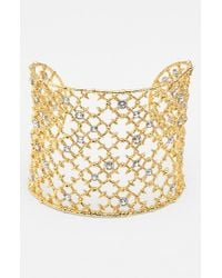 Alexis Bittar | Metallic 'elements' Wide Cuff | Lyst