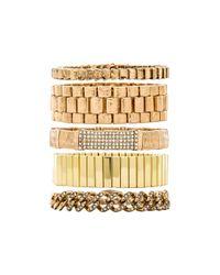 Samantha Wills | Metallic Your Warm Whispers Bracelet Set | Lyst