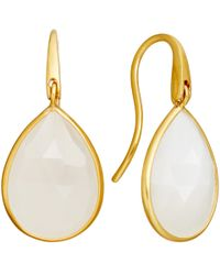 Astley Clarke | Pink Large Moonstone Stilla Drop Earrings | Lyst