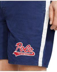 Polo Ralph Lauren | Blue Palm Island Striped Swim Trunk for Men | Lyst